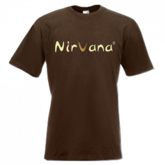 Nirvana® Brown T-shirt for Men