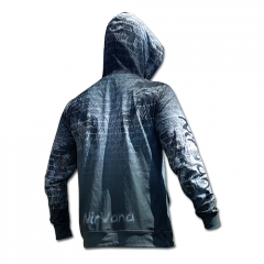 #Iambreathing Men's Hoodie - grey