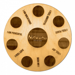 Nirvana® wooden candle plate