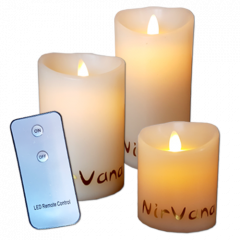 Nirvana® LED candles