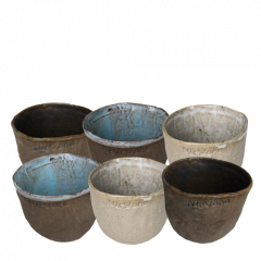 Ceramic mugs - Set of 6